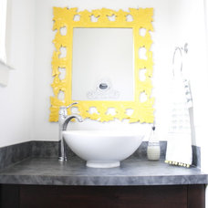 Eclectic Bathroom by Simply Grove