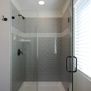75 Beautiful Bathroom With Green Cabinets And Laminate ...