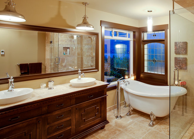 Traditional Bathroom by Norelco Cabinets Ltd