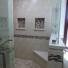 Traditional  by C.V. Tile and Stone Home Center