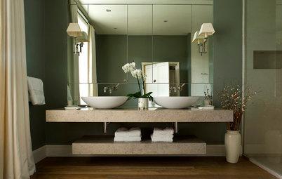Idéer för badrummet: 10 glänsande spegeltips