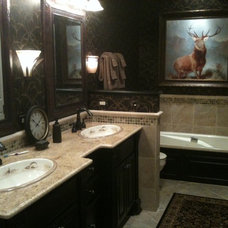 Traditional Bathroom by Jason Eppinette Construction and Remodeling