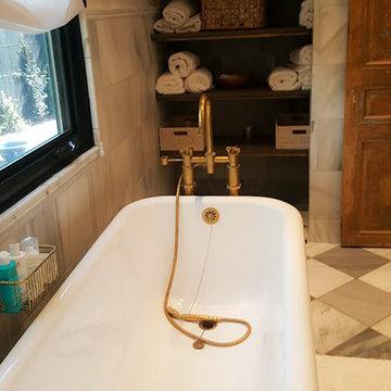 Single Family Residential | The Art of Décor | Freestanding Tub