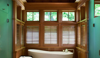 Single Stained Douglas Fir Shutter Panels