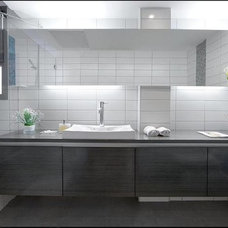 Modern Bathroom by HILIT