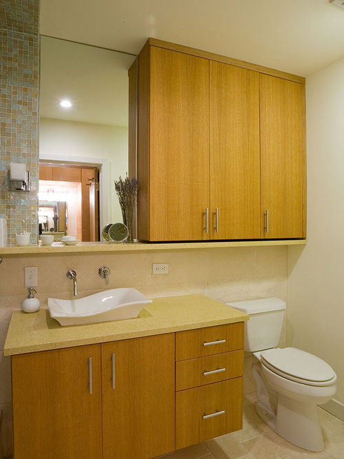cabinet above toilet houzz. Black Bedroom Furniture Sets. Home Design Ideas