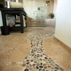 Contemporary Bathroom by Isaman design, Inc.