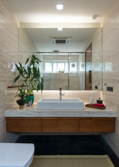 Contemporary Bathroom by Studio Lagom