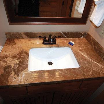 Ski Country Condos  Bath Remodel-Counter top