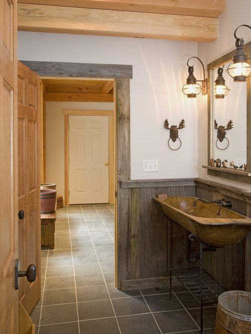 rustic wood wainscoting photos - Wainscoting Design Ideas