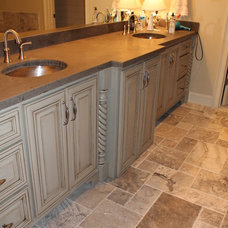Craftsman Bathroom by In Home Services