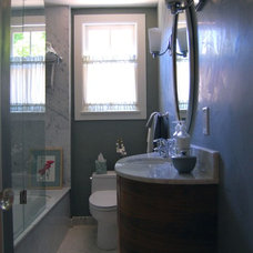 Traditional Bathroom by Patricia Benson
