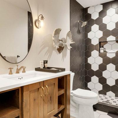 Bathroom - country bathroom idea in Minneapolis