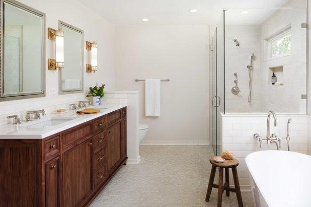 Traditional Bathroom by Jenni Leasia Interior Design