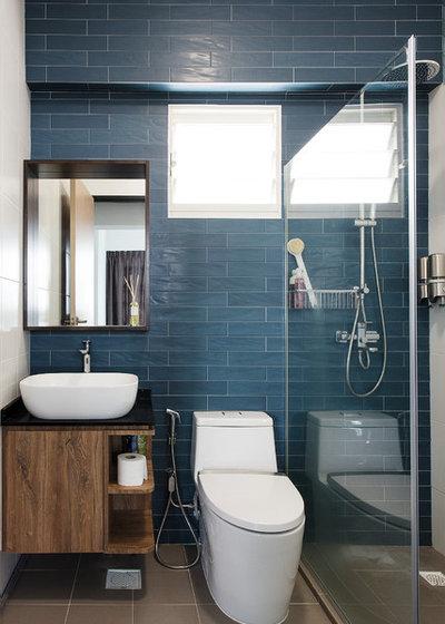 Contemporary Bathroom by Design Neu Pte Ltd