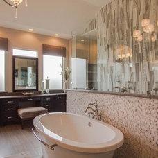 Modern Bathroom by Marble Systems