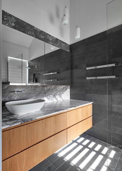 Modern Badezimmer by Melbourne Design Studios (MDS)