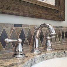 Traditional Bathroom by Karen Greiner Design, Inc.