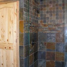 Traditional Bathroom by Wood Ridge Construction