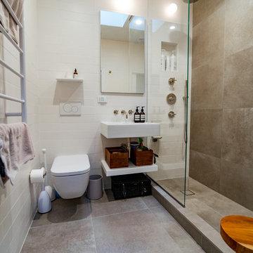 Sleek Hoboken Spa Bathroom