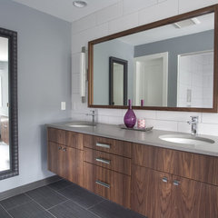contemporary bathroom by Anna Berglin Design