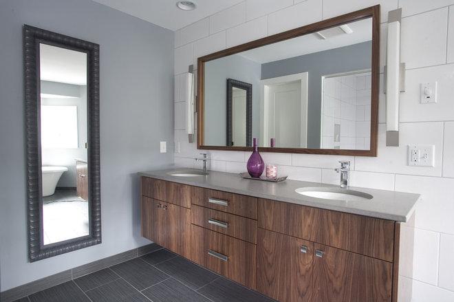Contemporary Bathroom by Anna Berglin Design