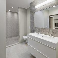 Contemporary Bathroom by Kelly Taylor Interior Design