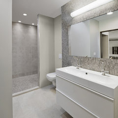 contemporary bathroom by Kelly Taylor Interior Design