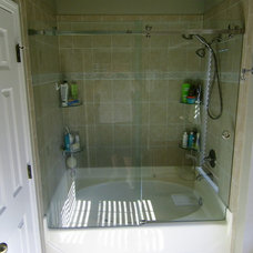 Traditional Bathroom by AllServices Frameless Glass Co.