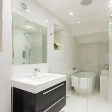 Contemporary Bathroom by Emblem Furniture