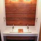 resin kitchen sinks uptown penthouse modern bathroom minneapolis by 1891