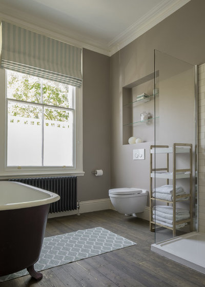 Traditional Bathroom by nimtim Architects