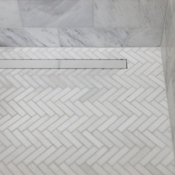 Small and Timeless Master Bath Remodel
