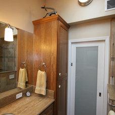 Eclectic Bathroom by Nunley Custom Homes
