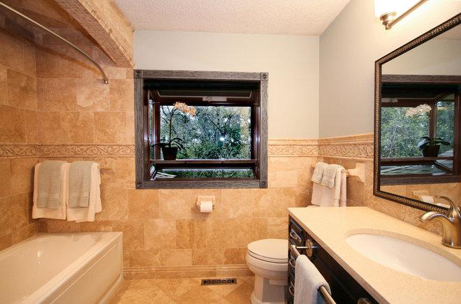 Mediterranean Bathroom by ALL Design Group
