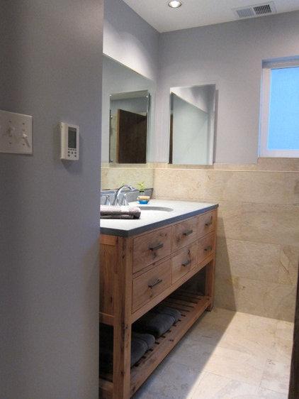 Contemporary Bathroom by Marci Kastner Architect