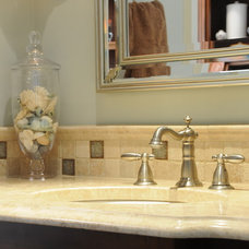 Traditional Bathroom by Karen Parham - KMP Interiors