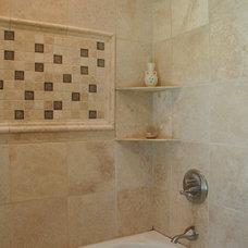 Traditional Bathroom by Karen Parham - KMP Interiors