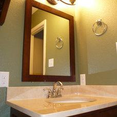 Traditional Bathroom by Curtis Ramey