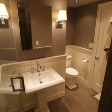 contemporary bathroom by Melissa Miranda Interior Design