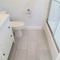 Traditional Bathroom by BMV Construction