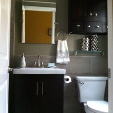 Traditional Bathroom by Fidelity General Contractors Inc.