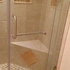 Traditional Bathroom by Counter Intelligence, Inc.