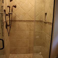 Traditional Bathroom by Ruxton Design & Build, LLC