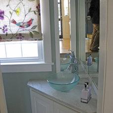 Traditional Bathroom by Sea Island Builders LLC
