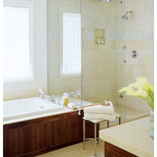 Elegant bathroom photo in Other