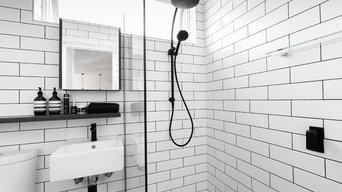 Small bathroom St.Kilda apartment