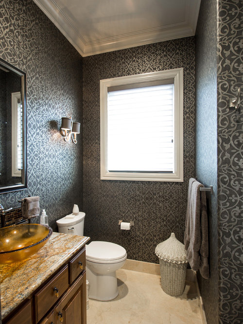 Best Portland Bathroom And Cloakroom With Brown Cabinets