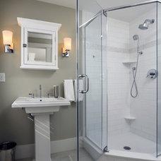 Beach Style Bathroom by Encore Construction