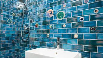 Small Blue Bathroom Gem